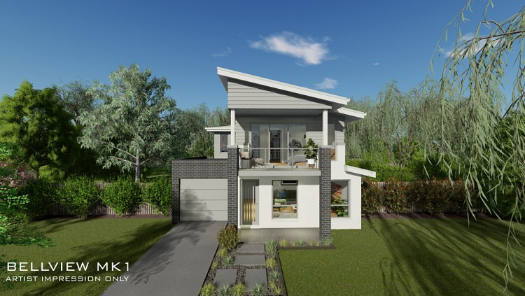Bellview MKI, Home Design, Tullipan Homes