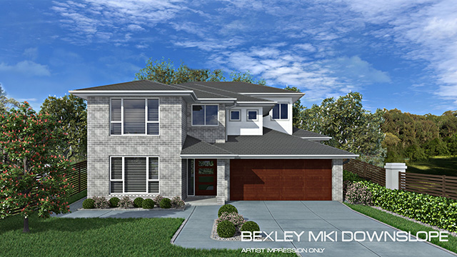 Bexley MK1 - Downslope design, Home Design, Tullipan Homes