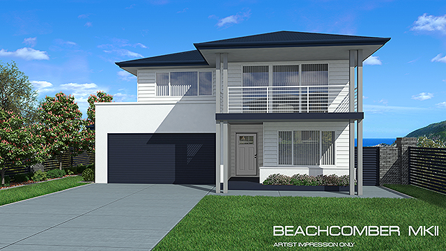 Beachcomber MKII, Home Design, Tullipan Homes