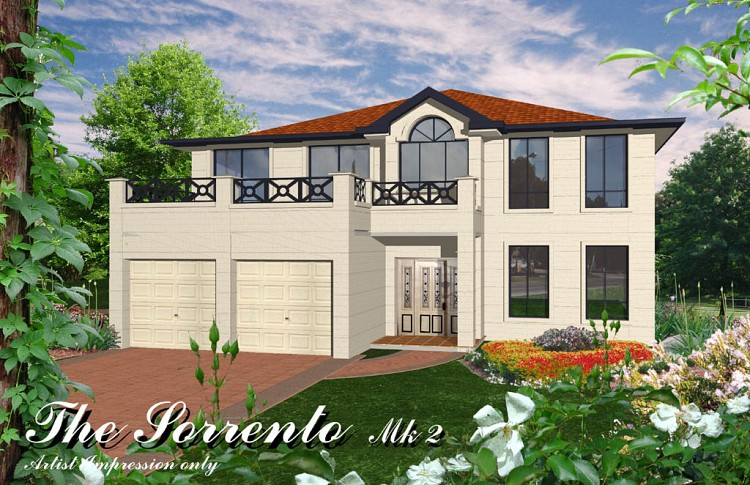 Sorrento MKII, Home Design, Tullipan Homes
