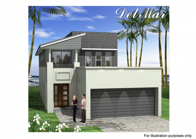 Del Mar MK 3, Home Design, Tullipan Homes