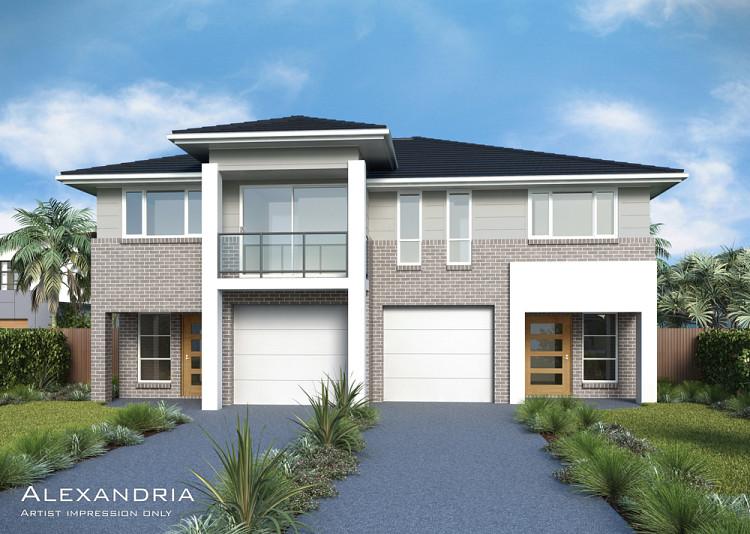 Alexandria Dual Occupancy, Home Design, Tullipan Homes