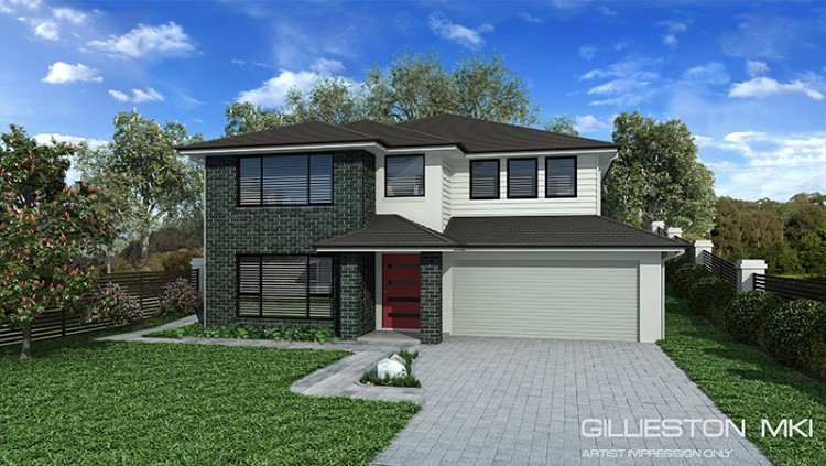 Gillieston MKI Upslope design, Home Design, Tullipan Homes