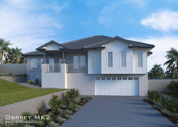Osprey MKII full split, Home Design, Tullipan Homes