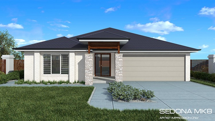 SEDONA MK VIII DOWNSLOPE, Home Design, Tullipan Homes