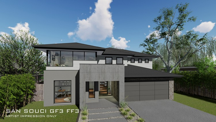 San Souci GF3 FF3 - Double storey design, Home Design, Tullipan Homes