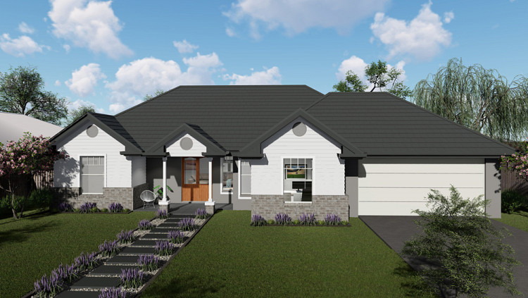 The Americana Downslope, Home Design, Tullipan Homes
