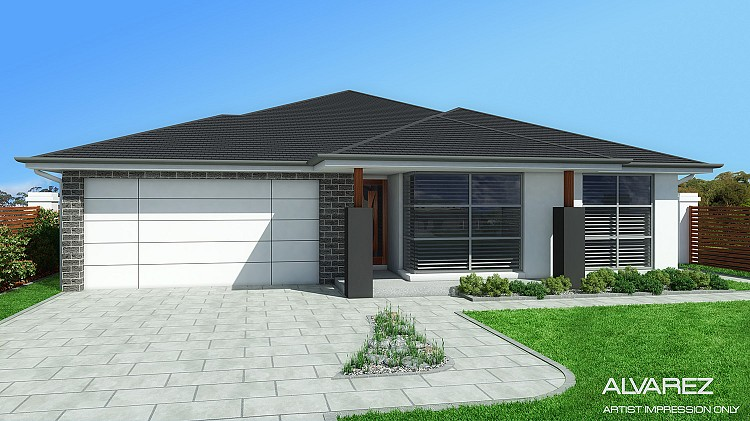 ALVAREZ Single Storey , Home Design, Tullipan Homes