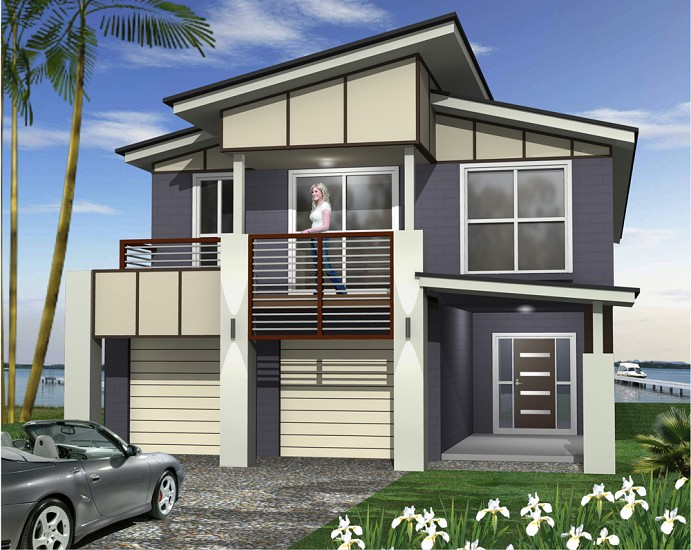 Del Mar MKI- Narrow sites., Home Design, Tullipan Homes