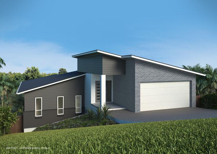 Warina Steep Downslope design, Home Design, Tullipan Homes