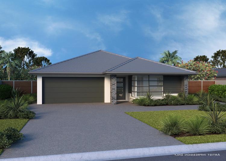 Acacia Downslope Full Split, Home Design, Tullipan Homes