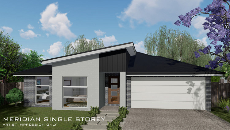 MERIDIAN Single Storey, Home Design, Tullipan Homes