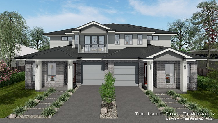 Isles Dual Occupancy, Home Design, Tullipan Homes
