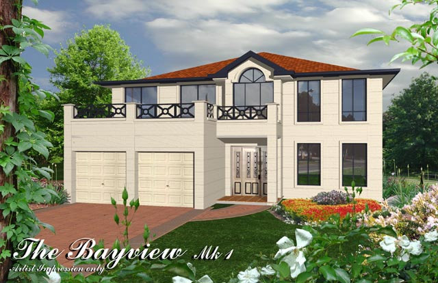 Bayview MKI, Home Design, Tullipan Homes