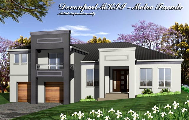 Devonport MKII Metro Facade, Home Design, Tullipan Homes