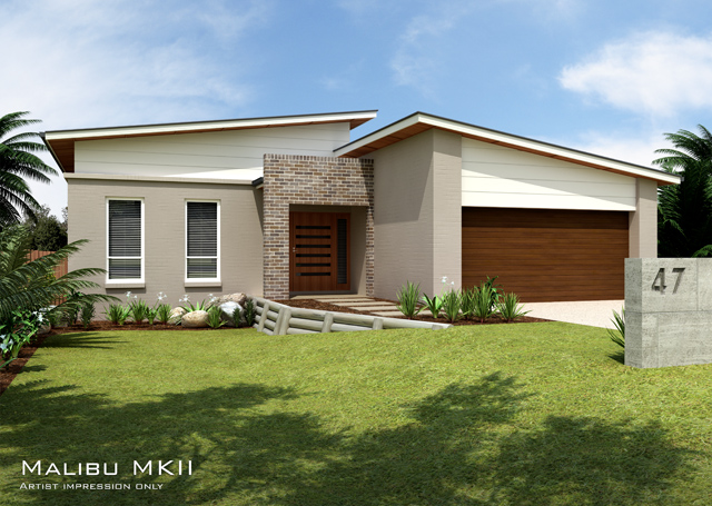 Malibu MKII Metro Downslope design, Home Design, Tullipan Homes