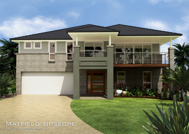 Mayfield MKII Upslope Design, Home Design, Tullipan Homes