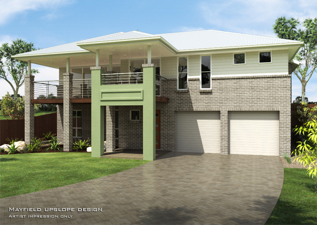 Mayfield MKIII suits 50ft frontage., Home Design, Tullipan Homes