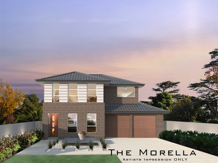 Morella Double Storey 21 Squares, Home Design, Tullipan Homes
