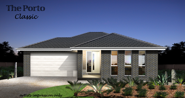 Porto Downslope - Alfresco Included , Home Design, Tullipan Homes