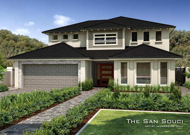 San-Souci 36 Square - No Split in Ground Floor, Home Design, Tullipan Homes