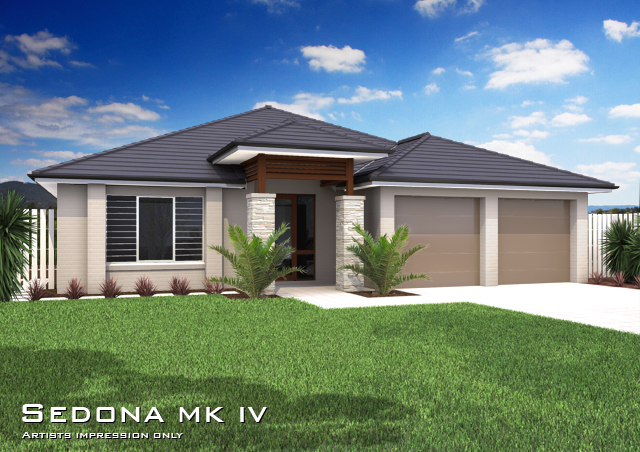 Sedona Mkiv Downslope Hip Roof Home Design Tullipan Homes