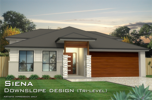 SIENA Downslope Design, Home Design, Tullipan Homes