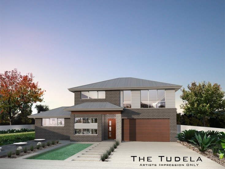 Tudela Double Storey 25 Squares , Home Design, Tullipan Homes
