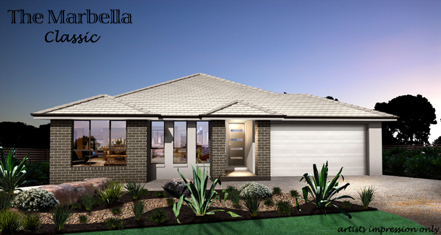 Marbella  ( Alfresco Included )., Home Design, Tullipan Homes