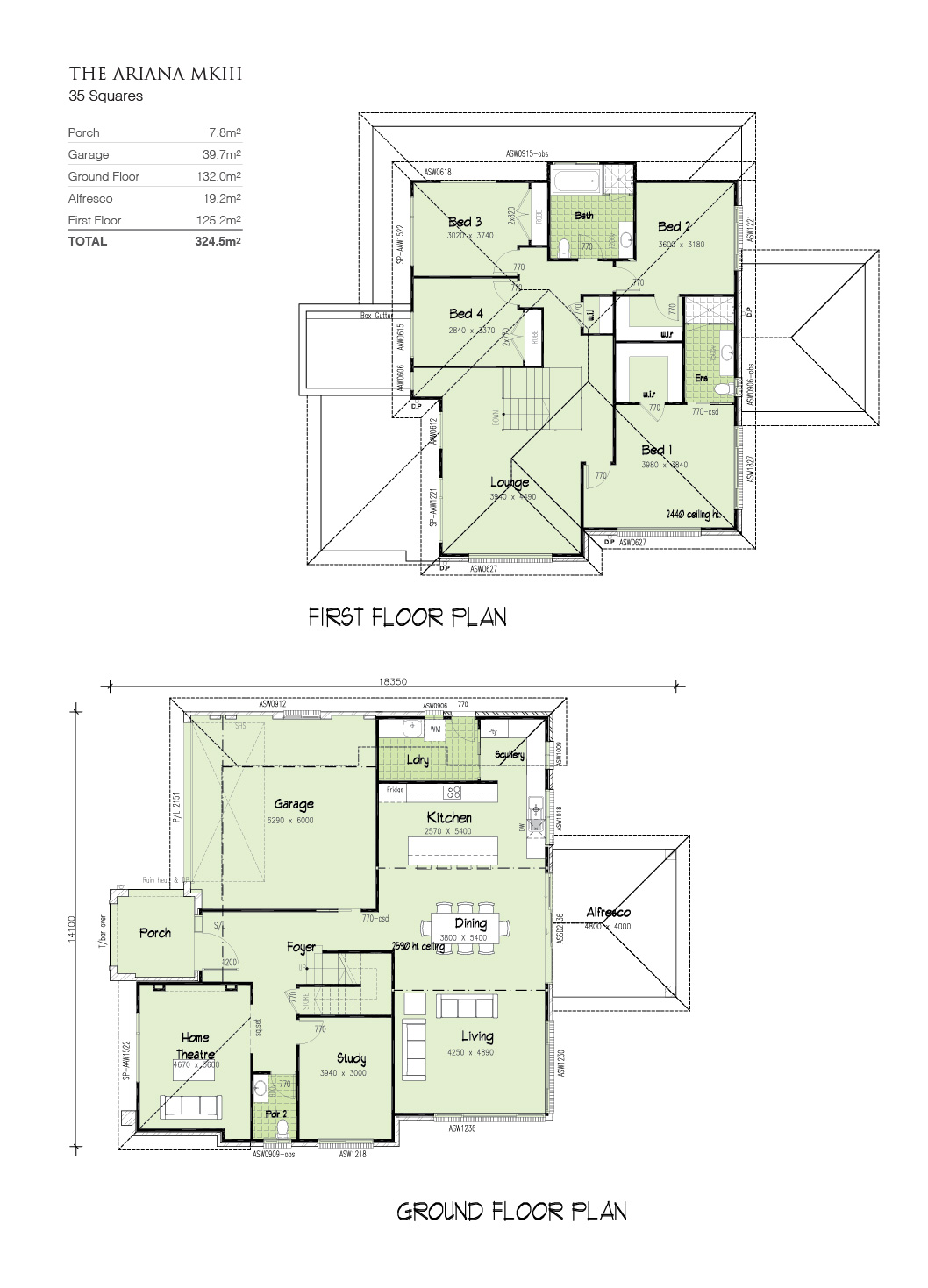 Ariana MKIII, Home Design, Tullipan Homes