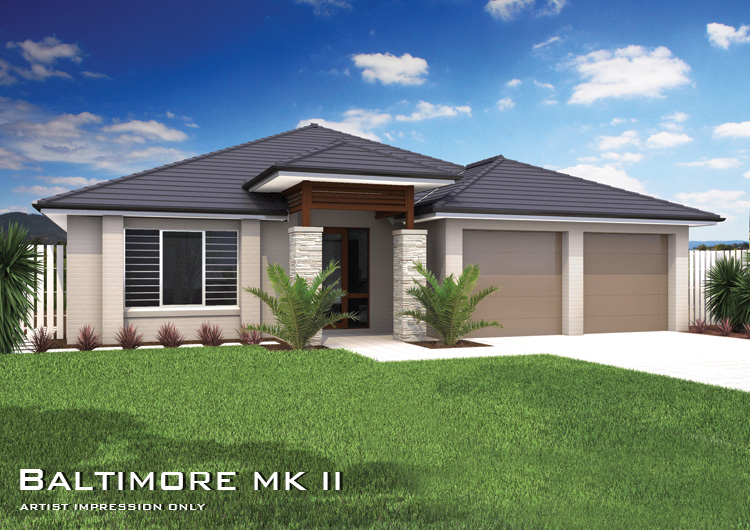 Baltimore mkii downslope design home design tullipan homes for House plans with hip roof styles