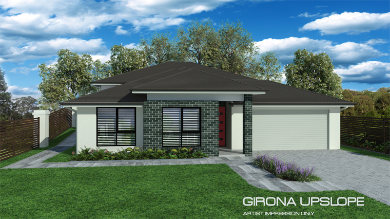 GIRONA Upslope (NO Alfresco), Home Design, Tullipan Homes
