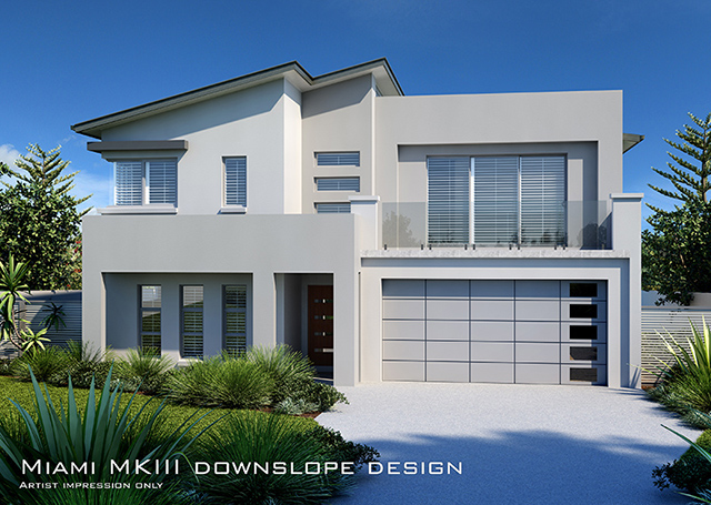 MIAMI MKIII Downslope 44 Squares, Home Design, Tullipan Homes
