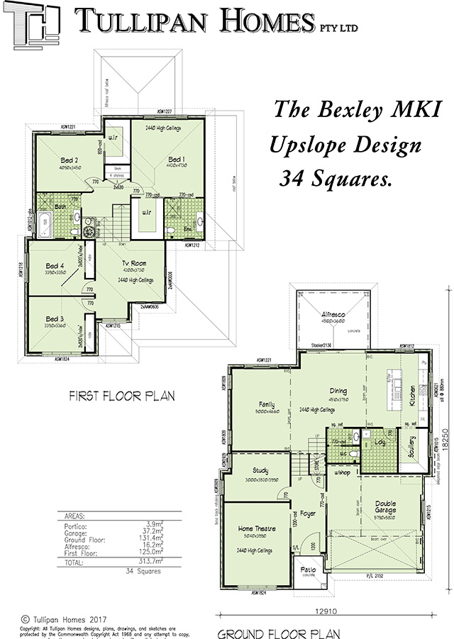 Bexley MKI - Upslope, Home Design, Tullipan Homes
