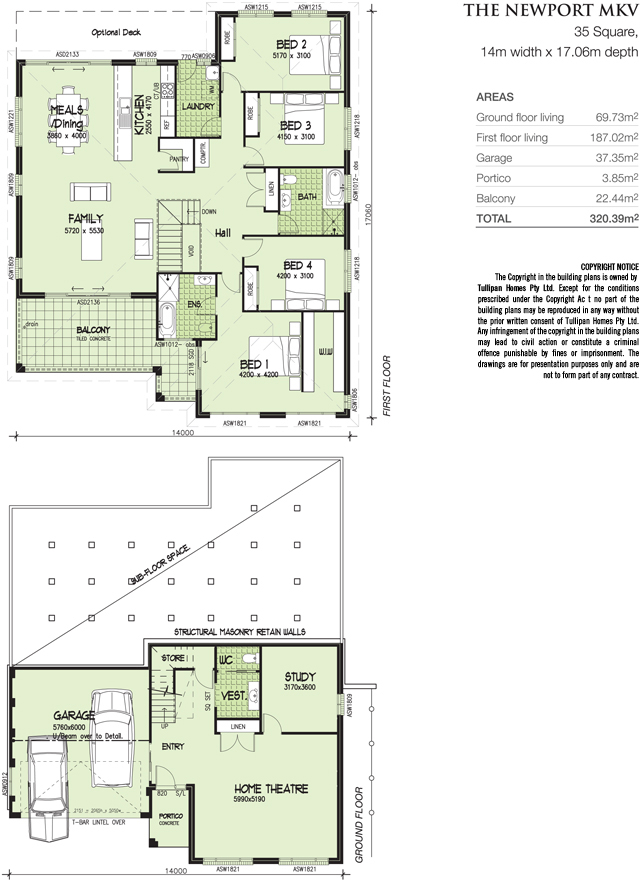 NEWPORT MKV - 35 Square., Home Design, Tullipan Homes