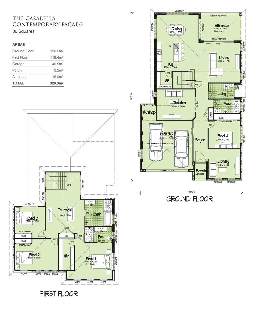 Casabella Double storey, Home Design, Tullipan Homes