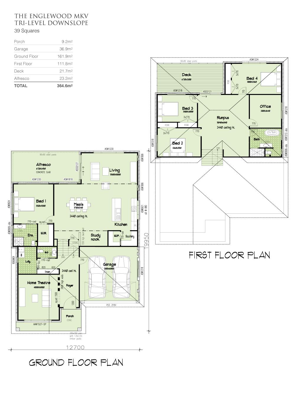 Englewood MKV , Home Design, Tullipan Homes