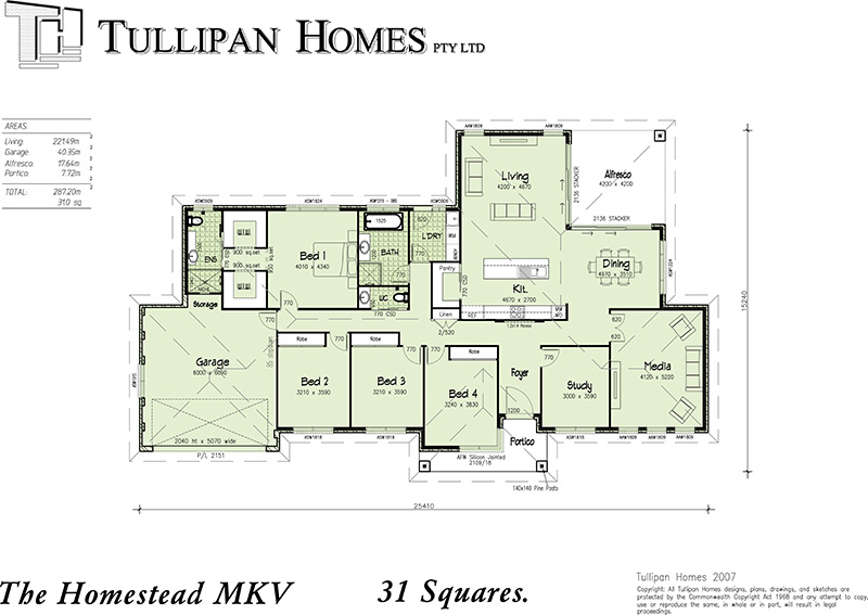 Homestead MKV, Home Design, Tullipan Homes