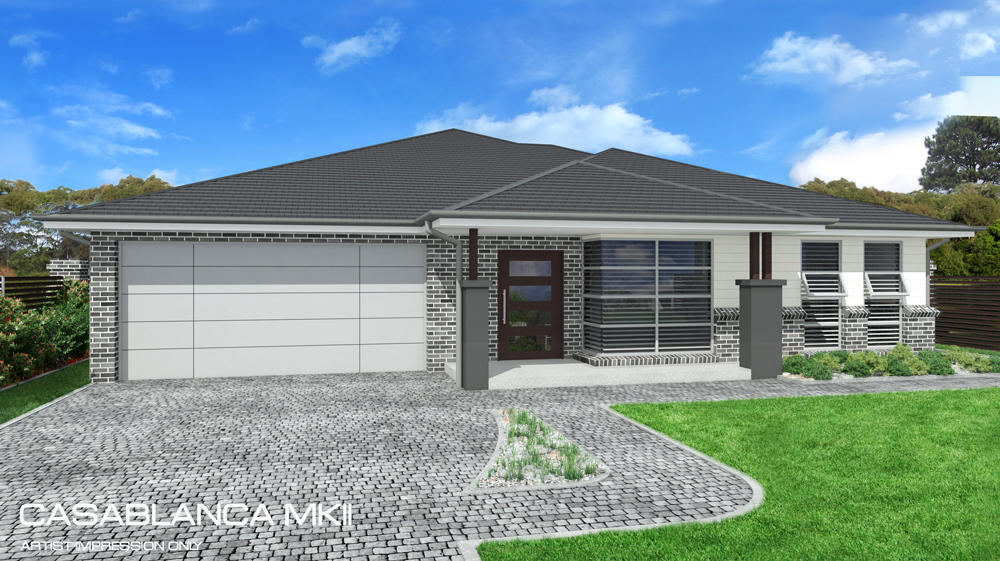 Casablanca MKII Single storey, Home Design, Tullipan Homes