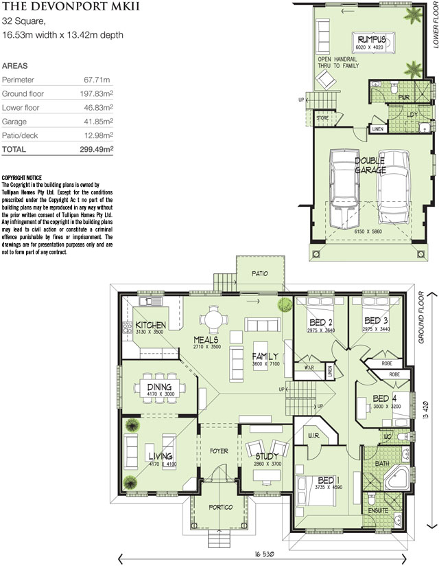 Devonport MKII, Home Design, Tullipan Homes