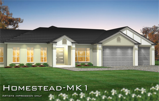 Homestead mk1 home design tullipan homes for Homestead style home designs