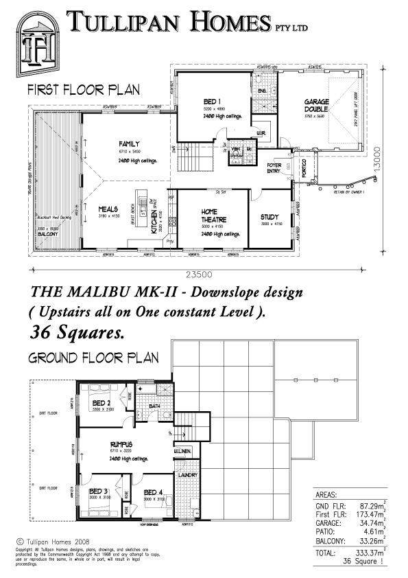 Malibu-MKII-Metro-Downslope design, Home Design, Tullipan Homes