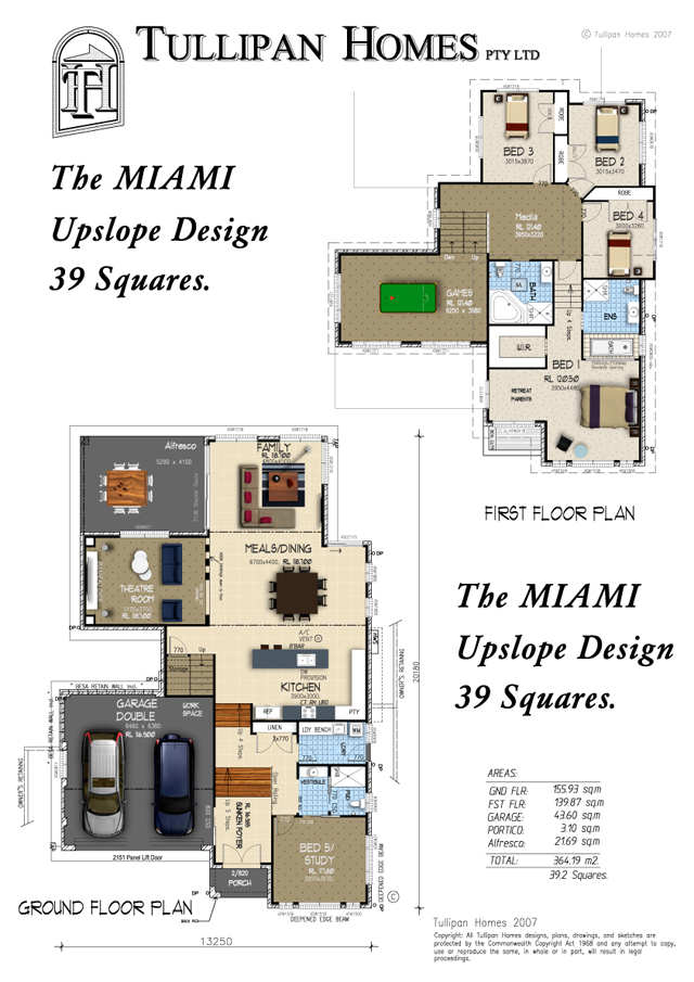 MIAMI Upslope 39 Square Design - Metro Facade, Home Design, Tullipan Homes