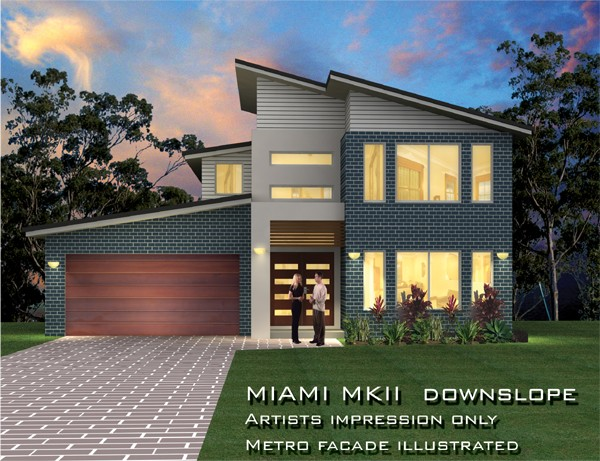 Miami Downslope MKII 35 Square, Home Design, Tullipan Homes