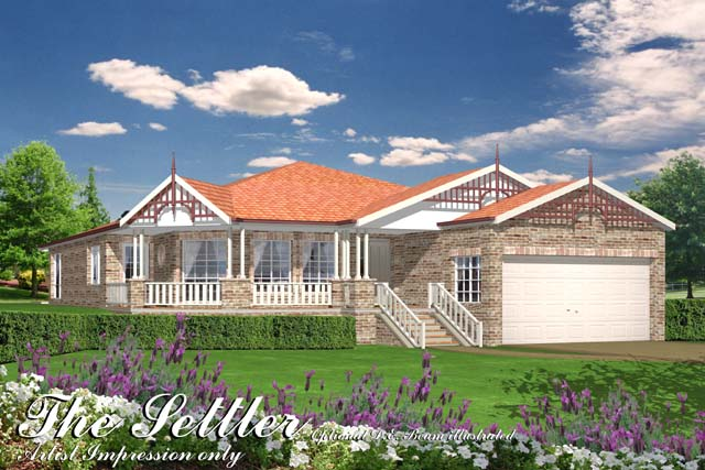 Settler, Home Design, Tullipan Homes