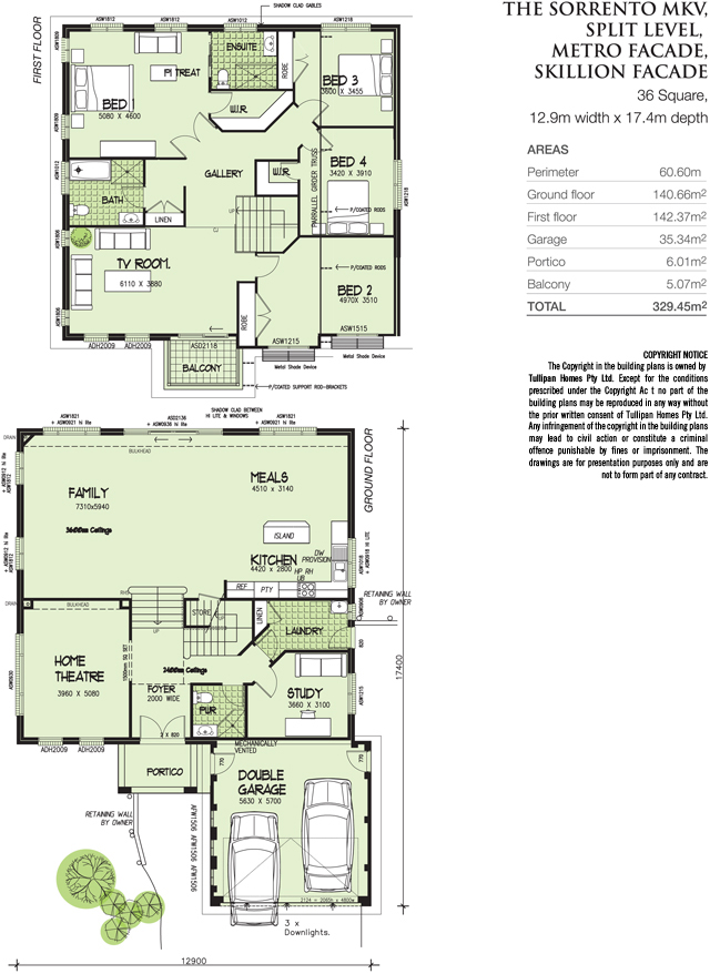 Sorrento mk5 split level metroskillion facade home design Floor plans for sloping blocks