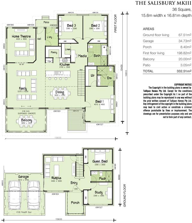 Salisbury mkiii skillion roof home design tullipan homes for Skillion roof house plans