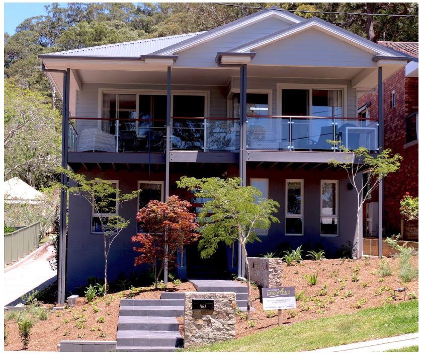 Custom Home design Saratoga Hamptons style