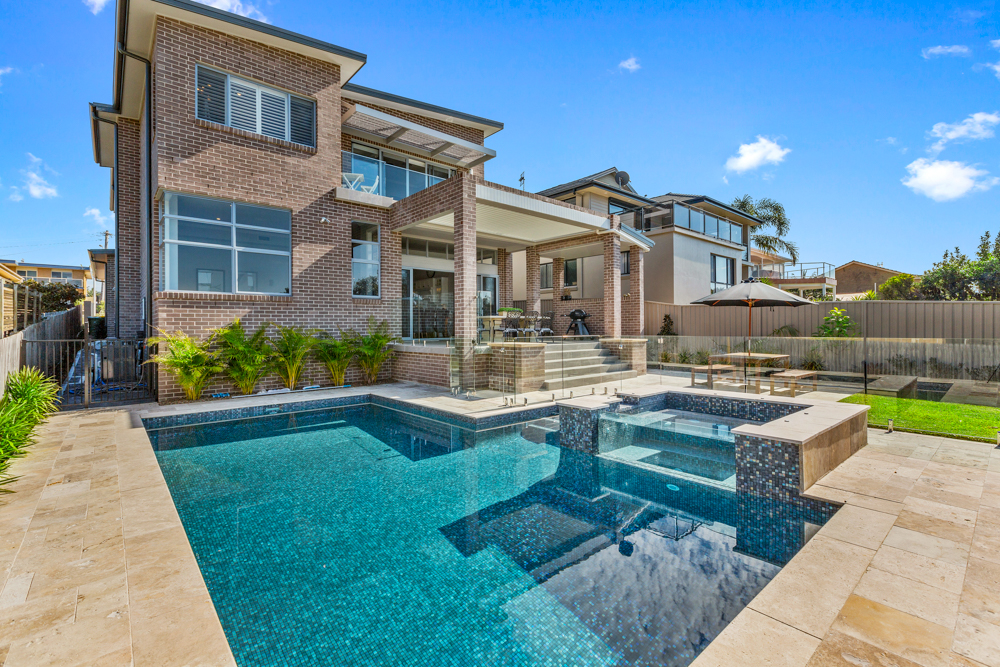 In ground concrete swimming pool Blue Bay