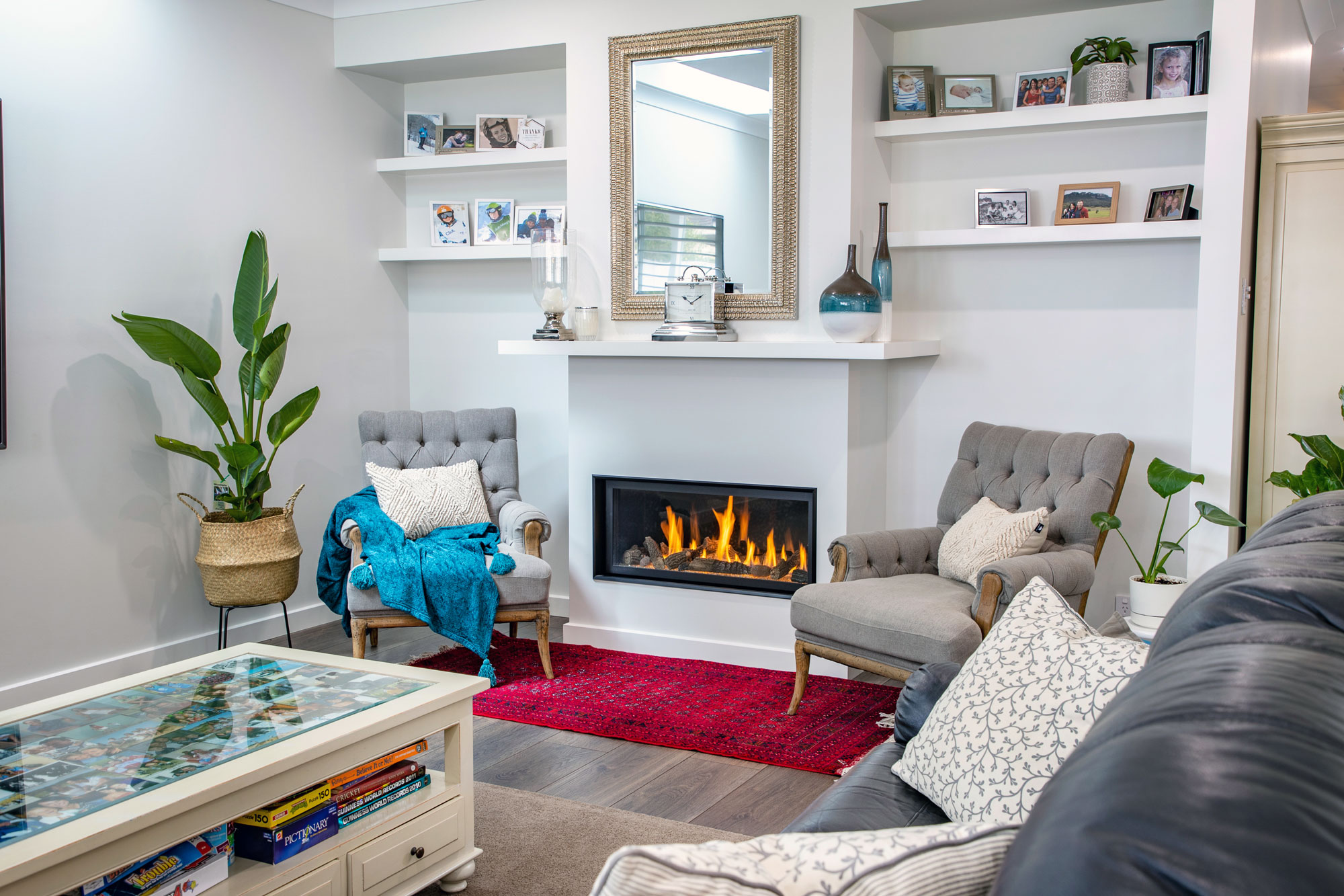 In-wall Gas Fireplace